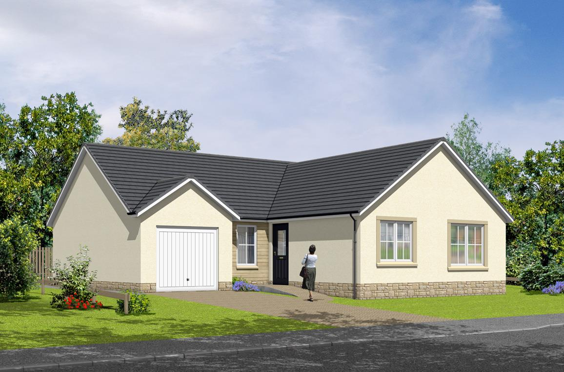 Plot 110 The Roxburgh Hayfield Brae